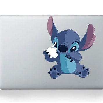 Stitch -- Macbook Decals Macbook Stickers Mac Vinyl Decal for Apple Laptop Macbook Pro / Macbook Air / iPad