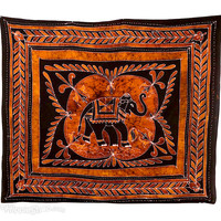 Batik Elephant Tapestry on Sale for $30.95 at HippieShop.com