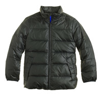BOYS' LIGHTWEIGHT PUFFER JACKET