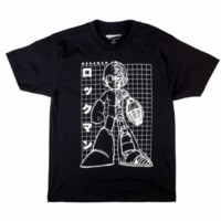 Mega Man Grid Tee - Shop Jeen - powered by Hingeto