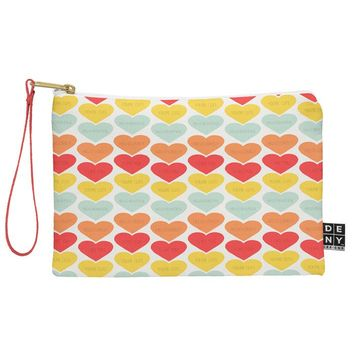 Allyson Johnson Cute Little Hearts Pouch