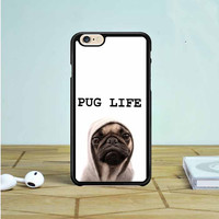 Funny Pug Life iPhone 6 Case Dewantary
