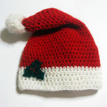 Christmas Hat CROCHET PATTERN, Santa Hat, Snowman Hat, Hello Kitty Christmas Hat, Mickey Christmas Hat, Beanie and Earflap, Newborn to Adult