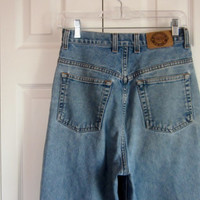 High Waisted Jeans, Mom Jeans, Womens 11 12, High Waist 30, 90s Grunge Denim, Vintage Northern Jeans, Hipster Boyfriend