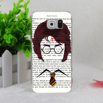 A1333 Harry Potter Novelty Book Page Movie Transparent Hard Thin Case Cover For Samsung Galaxy Note3 Note4 Note5 A3 A5 A7 A8