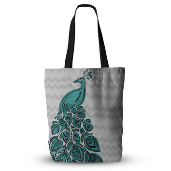 "Brienne Jepkema ""Peacock Blue"" Everything Tote Bag"