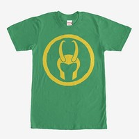 Marvel Loki Horned Helmet T-Shirt