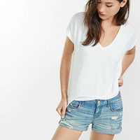 express one eleven banded bottom london tee