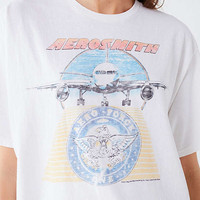 Junk Food Aerosmith Aero Force Tee | Urban Outfitters