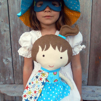 Superhero dolls, dolls, fabric dolls, large ragdoll, dress up dolls, doll play set, superhero girl dolls, soft toy, soft doll, cloth dolls