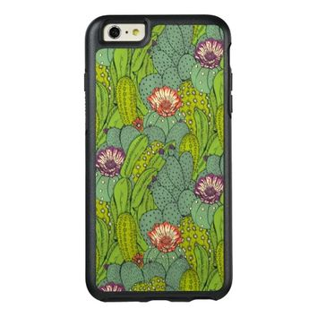 Cactus Flower Pattern OtterBox iPhone 6/6s Plus Case