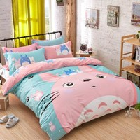 bedding sets BEDLINEN/quilt COVER SET CVC bed set bedding BEDDING SETqueen size DUVET COVER SET