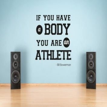 If you have a body athlete - G Direct Wall Stickers