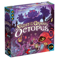 Night of the Grand Octopus Board Game