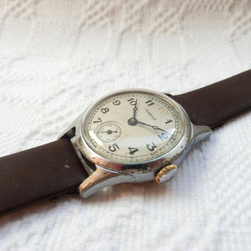vintage Pobeda mechanical men's watch from Ussr