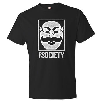 Mr Robot F Society Tee