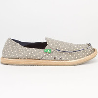 Sanuk Dotty Womens Shoes Blue  In Sizes