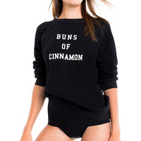 Cinnamon Buns Sommers Sweater - Wildfox
