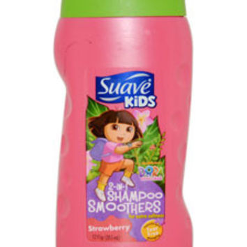 Kids 2 in 1 Shampoo Smoothers Strawberry Shampoo Suave