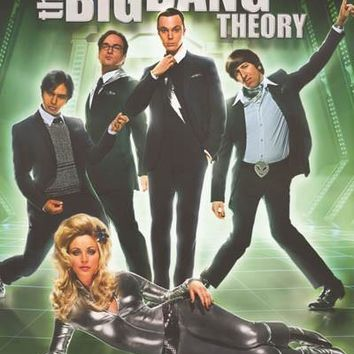 The Big Bang Theory Snazzy Cast Poster 22x34