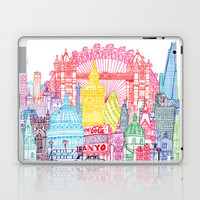 London Towers Laptop & iPad Skin by Cheism