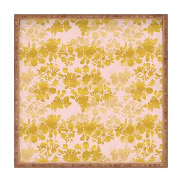 Gabi Audrey Gold Square Tray