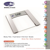The Ultimate Body Fat and Hydration Monitoring Scale