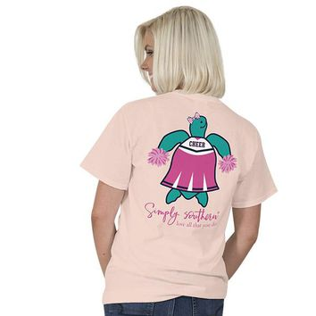 "Youth Simply Southern Turtle ""Cheer"" Short Sleeve Tee"