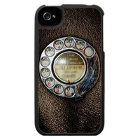 Retro Rotary Phone Dial iPhone 4 Case