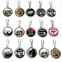 Duck Dynasty Set of 15 Bottle Cap Necklaces for Party Favors, Gifts