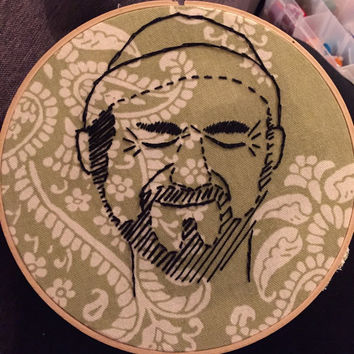 Custom Portrait Embroidery