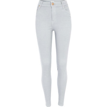 River Island Womens Light grey Lana superskinny jeans
