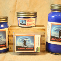 Midnight Romance Scented Candle, Midnight Romance Scented Wax Tarts, 26 oz, 12 oz, 4 oz Jar Candles or 3.5 Clam Shell Wax Melts
