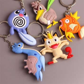 Pokemon Go Pocket Monsters Keychain (Variety)