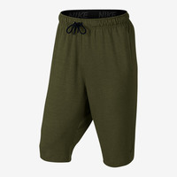 The Nike Dri-FIT Fleece Men's Training Shorts.