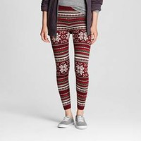 Women's Patterned Legging Holiday Pattern - Mossimo Supply Co.™ (Junior's)