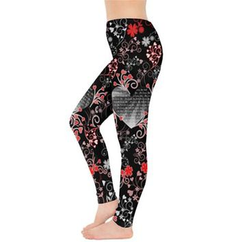 Valentine's Love Leggings