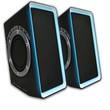 Dragonwar SP-011G Music Revolution Professional Gaming Speaker with Hyper Bass and 3D sound technology with 2.0 channel