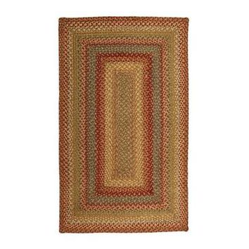 Homespice Azalea Braided Rectangle Rug