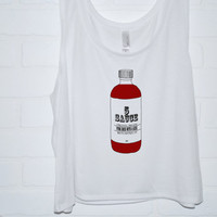 5Sauce Tank Top | Hand Screened 5 Seconds of Summer Hot Sauce Crop Tank