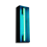 I liked this design on #Fab. Neon I Turquoise