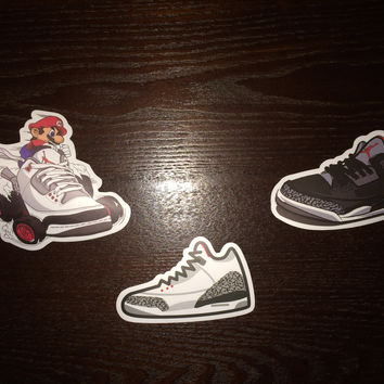Air Jordan 3 Stickers