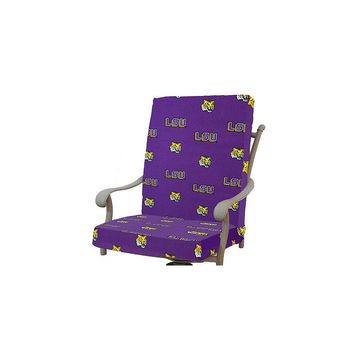 College Covers Ncaa LSU Tigers Outdoor Dining Chair Cushion