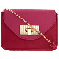 Pink/red cross body bag - View All New In - What's New - Dorothy Perkins