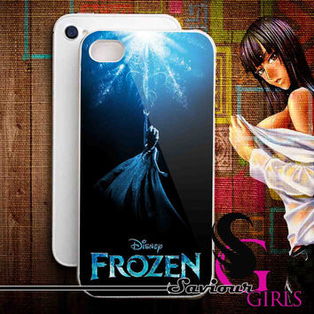 Disney Frozen for iPhone 4/4S, 5/5S, 5C and Samsung Galaxy S3, S4 - Rubber and Plastic Case