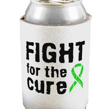 Fight for the Cure - Lime Green Ribbon Lyme Disease Can / Bottle Insulator Coolers