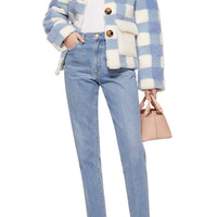 Lucy Cropped Check Jacket | Moda Operandi