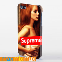Lana Del Rey Supreme iPhone 4/4S, 5/5S, 5C Series Full Wrap Case