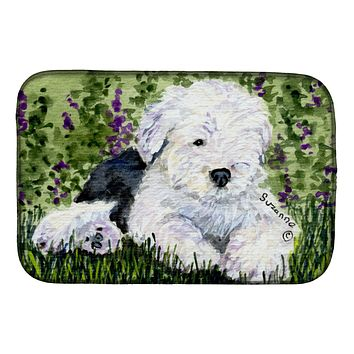 Old English Sheepdog Dish Drying Mat SS8840DDM