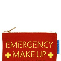 Women's Flight 001 'Emergency' Makeup Pouch